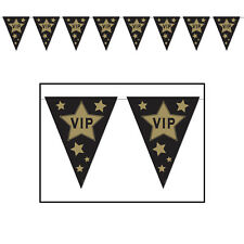 VIP AWARDS NIGHT FLAG BANNER 3.7M PARTY DECORATION