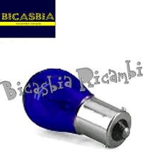 4281 - LAMPADINA LAMPADA 12-21 BLU PER FRECCIA 125 150 200 VESPA PX FRENO DISCO