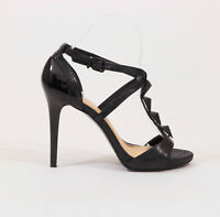 Gianni Bini Black Strappy Platform Stiletto Heels US 7M