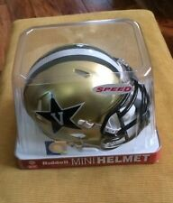 Vanderbilt Commodores Riddell Speed Mini Helmet - Great for Autographs