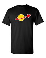 LEGO CLASSIC SPACE LOGO T Shirt - Sheldon Cooper Retro Cool Fun