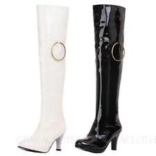 Over Knee Boots Slip On Casual Shoes for Women