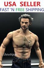 Custom 1/6 scale Logan Wolverine WORLDBOX muscular COMPLETE Full figure set