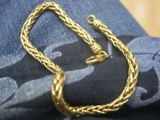 bracelet maille palmier en or 18 carats
