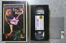 YNGWIE MALMSTEEN Live at Budokan 1994 PCVP-51477 VHS VIDEO TAPE From Japan