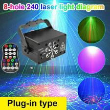 240 Pattern Laser Projector Stage Light LED RGB Party KTV DJ Disco Lights Xmas