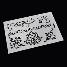 DIY Craft Rose Vine Flower Layering Stencils Album Stamping Drawing Mold