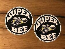 2x Super Bee ADESIVI Dodge Coronet Charger muscle car v8 Hemi MOPAR USA #316