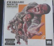 Pharoahe Monch CD 1999 Single SIMON SAYS & Behind Closed Doors RARE OOP Rawkus