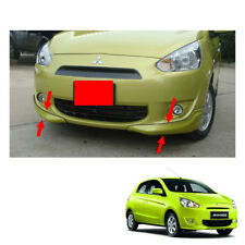 Front Skirt V1 Trim Painted 2 Pc For Mitsubishi Mirage Space Star 2012 - 2015