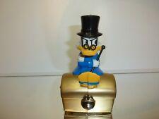 WALT DISNEY VINTAGE UNCLE SCROOGE on TREASURY  money box - SPARKASSE  H15.0cm
