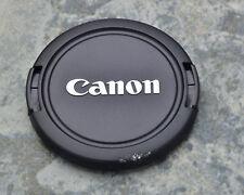 Canon EOS E 58mm ABS Front Lens Cap Chrome Logo 18-55 55-250 75-300  (#1452)