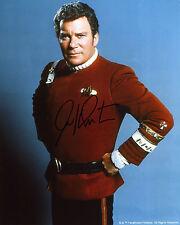 William Shatner - Captain James T. Kirk - Star Trek - Signed Autograph REPRINT