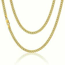 """9ct Yellow Solid Gold Curb Chain 3.6mm 20"""" **** CHEAPEST ON EBAY ****"""