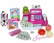 """Cash Register Shopping Play Set 21 Piece for 18"""" American Girl Dolls"""
