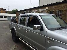 Ford Ranger 4 puertas 1998-2011 Deflector de Viento & Lluvia & humo Conjunto de 4 piezas