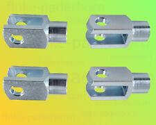 4 x Gabelkopf 10x20 M10 verzinkt - ohne Zubehör - Gabelgelenk Gabelköpfe