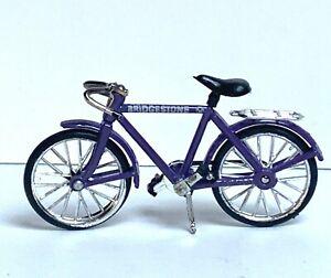 VINTAGE BRIDGESTONE MINIATURE BICYCLE DOLLHOUSE SIZE 1:12 SCALE EUC