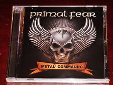 Primal Fear: Metal Commando CD 2020 Nuclear Blast Records USA NB 5556-2 NEW