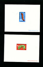 Congo 1971 Insects Caterpillars Scott 251-6 Deluxe Proofs (6)