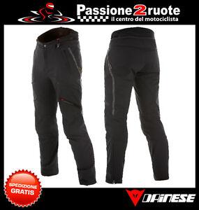 Trousers Dainese Sherman Pro Black D-Dry Pants Waterproof Motorcycle Waterproof