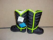 Toddler Boys Shoe Size 5 Black Snow Boots New With Tag