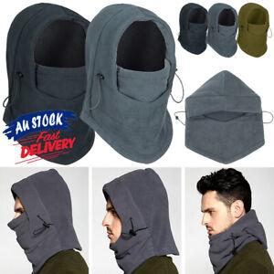 Unisex Cap Hood Fleece Winter Thermal Mask Hat Bike Warm Balaclava Ski Headscarf