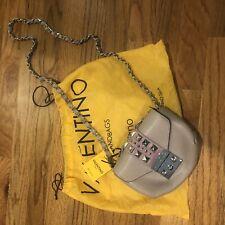 Valentino by Mario Paulette Rockstud Lilac Leather Crossbody Bag NWT