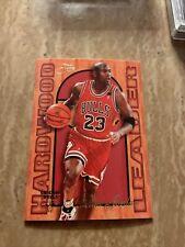 Michael Jordan Hardwood Leader 1995 - 1996 Flair Basketball #4 🔥🔥📈GOAT