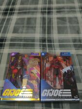 Hasbro 6 inch Cobra Red Ninja Action Figure complete GI Joe classified G.I.