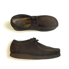 CLARKS WALLABEES CHOCOLATE BROWN UK 8
