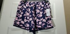 A.N.A Women's Printed Soft Shorts with Pockets, New
