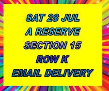 Concerts Victoria 4 Tickets