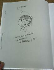 HACHEL - DEDICACE - BENJAMIN - 1 - TRANCHE DE VIE, TRANCHE DE L'ART ( EM )