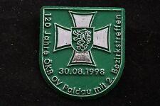 Austria Austrian 1998 120 Years Paldau Municipality Styria Iron Cross Badge