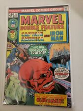 Marvel Double Feature #14Feb 1976 Captain America &Iron Man FREE COMBINED ship