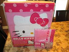 Lambs & Ivy 4 Piece Toddler Bedding Set, Hello Kitty Garden W/ FREE VALANCE NEW
