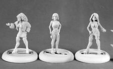 Reaper Miniatures Townsfolk: Ladies Of The Night (3) #50157 Chronoscope Figure