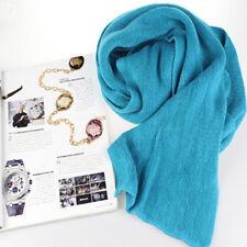 New Fashion Women Winter Wool Scarf Knitted Long Scarves Wrap Knit Shawl Warm