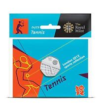 London 2012 Olympic TENNIS 50p coin brand new uncirculated sealed perfect