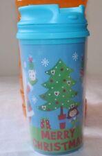 New listing Merry Christmas Travel Tumbler Mug Cup Child Children 11.4 Oz, 340 Ml