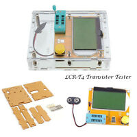 LCR-T4 Mega328 Transistor Tester Diode Triode Capacitance ESR Meter MOS And Case