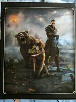 Elder Scrolls Online Morrowind Collector's Original Box w/ Statue and Art Book!