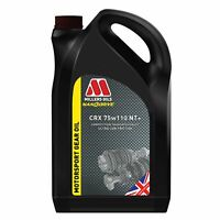 Millers CRX Fully Synthetic Nanodrive NT + Plus Gearbox Oil  GL4 GL5 MT-1