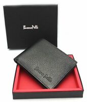 Genuine Leather Men Women Unisex RFID SAFE Contactless Card Blocking wallet