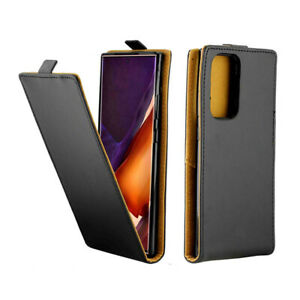 For Samsung Galaxy Note 20 Ultra / 10 + 9 8 Vertical UP Down PU Leather Case