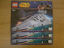 LEGO STAR WARS - 75055 Imperial Star Destroyer - INSTRUCTION MANUAL ONLY