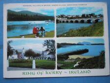 POSTCARD KERRY KEMARE - KILLORGLIN BRIDGE SNEEM & DERRYNANE HARBOUR