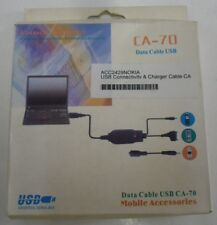 New CA-70 Nokia Phone USB Sync Connectivity and Charger Cable with Software