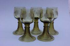 5 Römer mit Weintrauben, um 1890